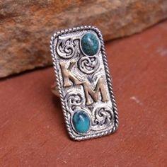 Cute Jewelry, Jewelry Accessories, Jewelry Ideas, Jewelry Box, Jewellery, Cowgirl Bling, Bling Bling, Custom Class Rings, Custom Earrings