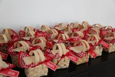 little red riding hood lolly baskets