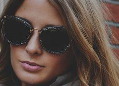 Miu miu sunglasses - millie mackintosh