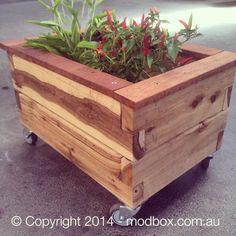 ModBOX Piccolo on Wheels - Planter Box