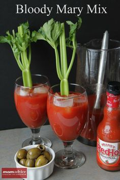 Easy Bloody Mary Mix - MomAdvice