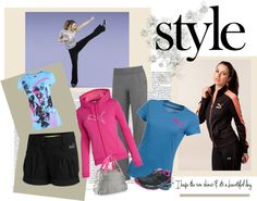 P.E. Teacher Fabulous, created by luvrunnin on Polyvore