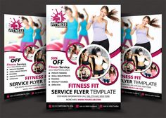 Fitness Flyer by AfzaalGraphics on @creativework247