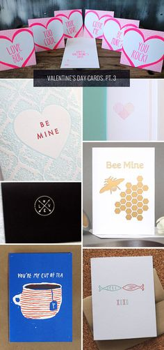 Valentine's Day Cards, via Paper Crave