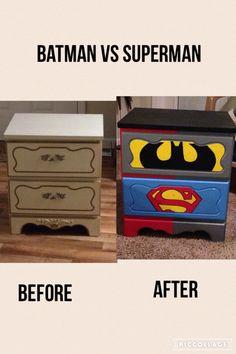 Batman Vs Superman DIY Before And After