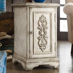 Use wood embellishments on bath cabinets before painting....master bath possibility