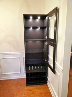 Charming IKEA Liquor Cabinet Build
