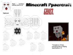 Welp... the one page... this one page that we are most famous for XD aaaaaand... these aren't mine, So go to http://pixelpapercraft.com/ to find more. All the credit on these printables go to...