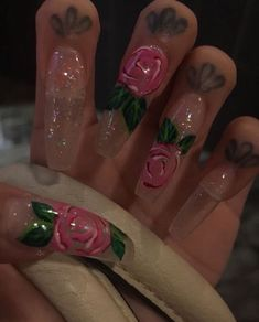 Try some of these designs and give your nails a quick makeover, gallery of unique nail art designs for any season. The best images and creative ideas for your nails. Acrylic Nail Designs, Nail Art Designs, Acrylic Nails, Acrylics, Dope Nails, Nails On Fleek, Gorgeous Nails, Pretty Nails, Hair And Nails