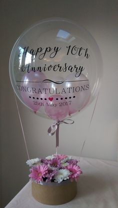 Personalised balloons, ideal for Gifts, Weddings, Parties, Corporations and more. Birthday Balloon Decorations, Balloon Centerpieces, Valentines Day Decorations, Birthday Balloons, Personalized Balloons, Custom Balloons, Bubble Balloons, Letter Balloons, Balloon Flowers