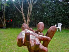 The supplicant by Gakunju Kaigwa, Kenyan Sculpter