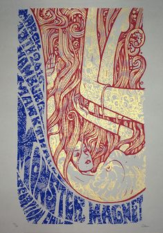 'Monster Magnet' European Tour Triptych by Malleus