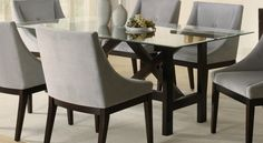 design-ideas rectangular-brown-glass-tables