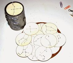 Making a projector with constellations ~ The little life of Ilhan and . - Miriam Andrews Photo Page Science For Kids, Science Activities, Science And Nature, Activities For Kids, Educational Activities, Constellations, Diy For Kids, Crafts For Kids, Milk Magazine