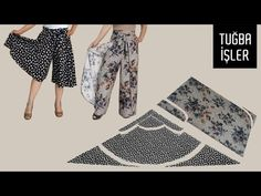 Easy Wrap, Wrap Clothing, Viscose Fabric, Couture, Different Styles, Two By Two, Trousers, Pajama Pants, Stitch