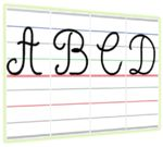 Il existe de nombreuses polices d'écriture cursives. J'utilise la plupart du temps Cursive Standard lorsque je crée mes documents et elle est très lisible par les élèves.Seulement, quand il s'agit de faire un affichage pour le graphisme et qu'on utilise la méthode Dumont… ça ne colle pas vraiment. Depuis l'année dernière je veux faire des […]
