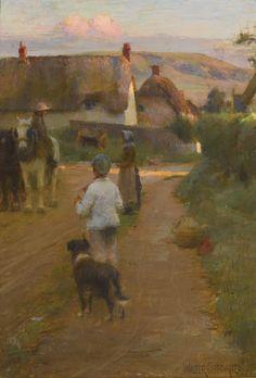 Irish Artist Walter Frederick Osborne, the Loiterers, 1888