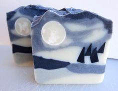 winter moon soap
