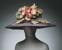 Hat  by  Jeanne Lanvin, 1922. Image c.    The Philadelphia Museum of Art
