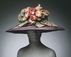 Hat  by  Jeanne Lanvin, 1922. Image c.    The Philadelphia Museum of Art