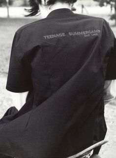 Teenage summercamp, Raf Simons spring/summer 1997 by Ronald Stoops