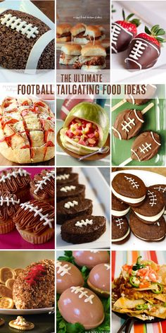 Football Tailgating Food Ideas | Confetti Sunshine