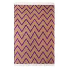 Nate Berkus� Chevron Area Rug - Camel/Purple (5'x7')