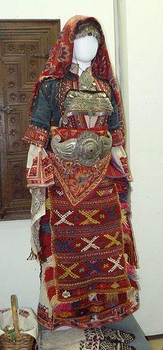Bulgarian costume/textile  www.roadswelltraveled.com