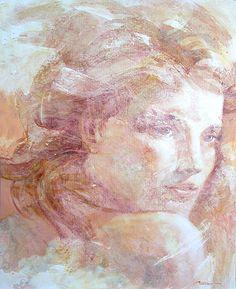 Musa - Muse Acrílico sobre lienzo - Acrylic on canvas 162 x 130 cm.