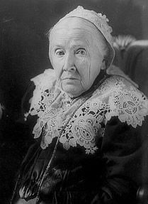 """Day 29: Julia Ward Howe - Most known for her song, """"The Battle Hymn of the Republic."""" What many do not know about her is that she played a significant role in the women's suffrage movement, helping to found the New England Women's Club, the American Woman Suffrage Association, the Massachusetts Woman Suffrage Association and the New England Suffrage Association."""