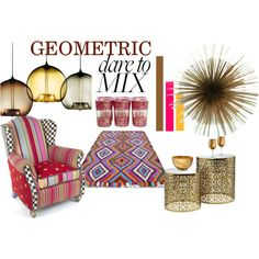 """""""GEOMETRIC BY CHIARAD. STYLE"""" by chiarad1618 on Polyvore"""