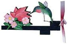 Free Woodworking Plans Hummingbird with Flower Whirligig Plan - Watch this hummingbird fly as the wind blows. The Hummingbird with Flower Whirligig Plan will simplify making your own! Cool Woodworking Projects, Woodworking Supplies, Custom Woodworking, Woodworking Plans, Woodworking Furniture, Wood Projects, Furniture Plans, Hummingbird Wings, Wind Spinners