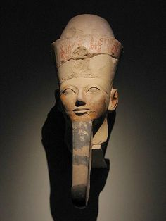 her majesty Hatshepsut, 5th Pharaoh of the 18th Dynasty - Yes PHARAOH :) I love ancient women's history, we rarely hear these stories in history class