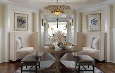 Foyers and Entrances   Works by Cindy Ray...beautiful lighting...