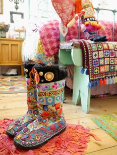 Colorful Boots - Leona Leppers