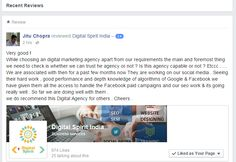 Digital spirit , Digital marketing , SEO , Web designing , Search engine optimization , search engine marketing , social media management, social media marketing & Online training