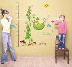 Wall Stickers Decoration Mural Nursery Children Decal Happy Hills 90cm x 80cm