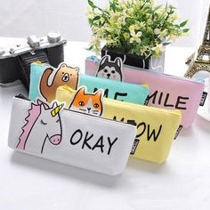 Animal Pencil Cases - Gifts for Kids