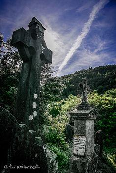 Irish Graveyard, Glendalough, Ireland