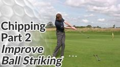 This chipping drill will help you achieve a consistent strike on the golf ball. If your ball striking is inconsistent when hitting chip shots, it's probably down to too much wrist motion. Ben Hogan Golf Swing, Golf Chipping Tips, Golf Tips Driving, Golf Putting Tips, Golf Videos, Club Face, Golf Instruction, Golf Tips For Beginners, Golf Lessons