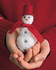 .Cute little ornament to make.