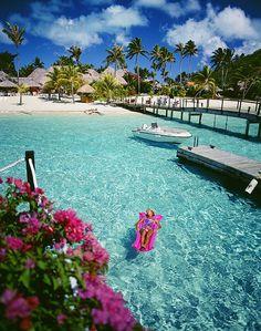 Moana Beach Park Royal - Bora Bora by Dream Vacation Spots, Need A Vacation, Vacation Places, Vacation Destinations, Dream Vacations, Vacation Trips, Places To Travel, Places To Visit, Honeymoon Trip