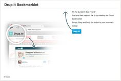 Drupit Bookmarklet Auto-posting feature