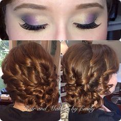 Bridal hair and makeup by Emily Holland