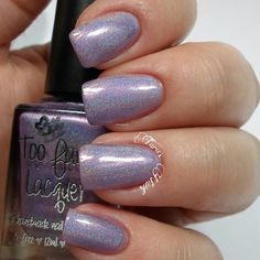 Too Fancy Lacquer Keep Calm and Love Unicorns