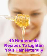 10 Homemade Recipes To Lighten Your Hair Naturally - living Green And Frugally