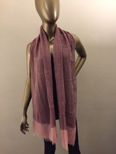 a80c65adeab2 solid pink ombre scarf ladies Womens Scarves