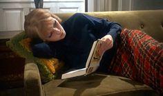 Rosemary's Baby_Mia Farrow_plaid skirt sofa-2
