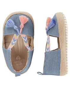 OshKosh Espadrille Crib Shoes