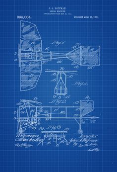 92 best aviation patent prints images on pinterest 1911 aerial machine patent print vintage airplane airplane blueprint airplane art pilot gift aircraft decor airplane poster malvernweather Images